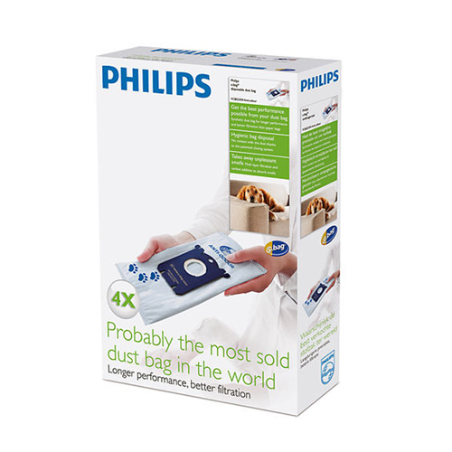 PHILIPS S BAG ANTI ODOR FC 8023 04